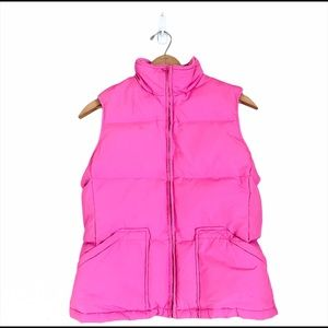 ⚡️3/$20⚡️ Old Navy Puffer Vest Zip Up Pink Small